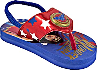 Wonder Woman Lighted Girl s Flip Flop Sandals