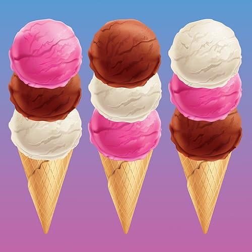 Sorting Ice Cream - OCD ASMR Games