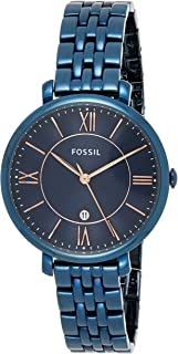 Fossil Womens Quartz Watch, Analog Display and Stainless Steel Strap ES4094