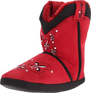 Blazin Roxx Ladies Fleur with Crystal Boot Slipper