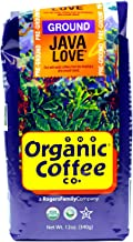 The Organic Coffee Co, Java Love Ground, 12 Ounce (3 Pack)