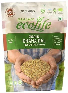 ECOLIFE Chana Dal Pouch, 1000 g