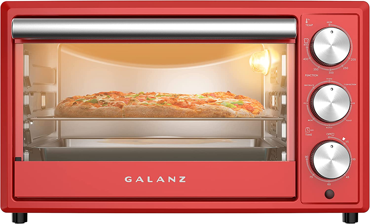 Galanz GRH1209RDRM151 Detroit Mall Large 6-Slice Oven Convection True Popular products Toaster