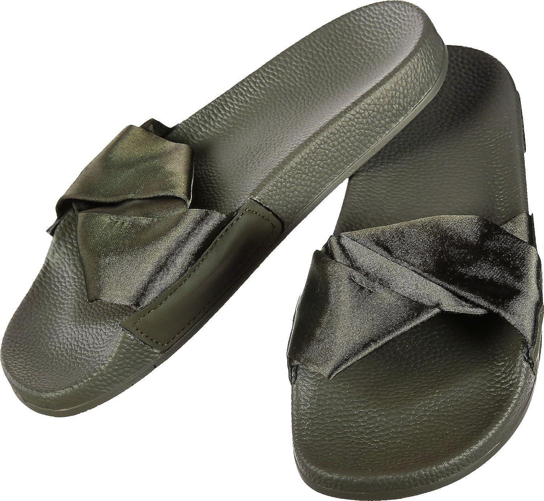 Slydes - ss18 dessa dessa dessa - khaki pantoufles féminines, prix de détail recommandé  31 dollars  snabb frakt till dig
