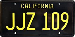 Celebrity Machines Bullitt | JJZ 109 | Metal Stamped License Plate
