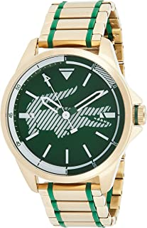 Lacoste Women's Green Dial Stainless Steel Band Watch - 2010962