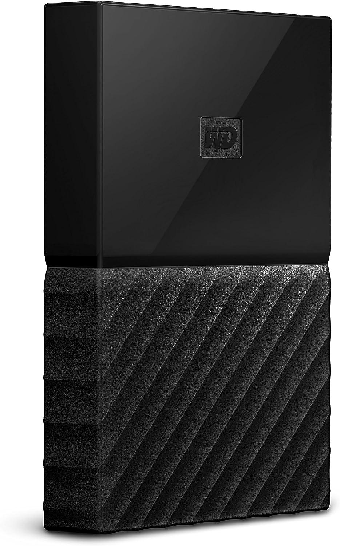 WD 2TB My Passport for Mac Portable External Hard Drive, USB-C/USB-A - WDBLPG0020BBK-WESE