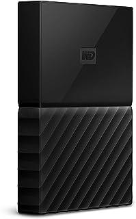 WD My Passport For Mac - Disco Duro Portátil de 2 TB, Negro