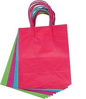 Darice Medium Gift Bag: Bright, 8 x 10 inches, 13 Pieces, Assorted