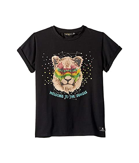 Rock Your Baby Welcome To The Jungle Short Sleeve T-Shirt (Toddler/Little Kids/Big Kids)