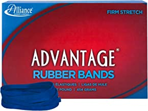 Alliance Rubber 54645 Advantage Rubber Bands Size #64, 1 lb Box Contains Approx. 300 Bands (3 1/2