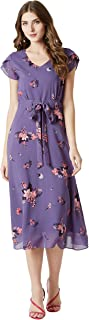 Miss Chase Women's Georgette a-line Dress