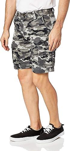 Military Texture Camouflage Waterproof Printed Side Split Swim Shorts