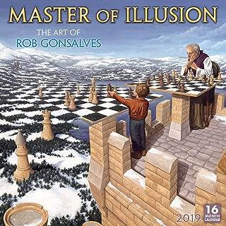 Master of Illusion 2019 Wall Calendar