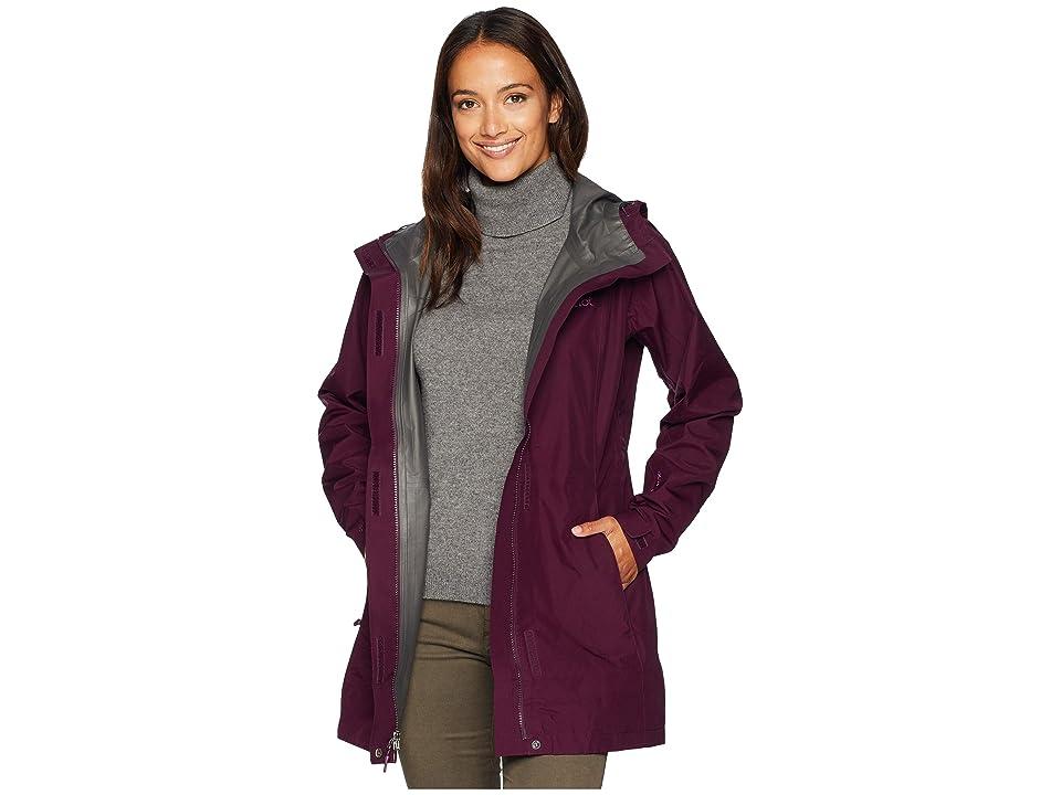 Marmot Essential Jacket (Dark Purple) Women