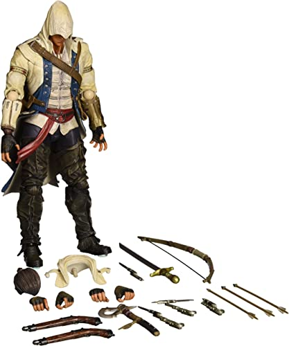 Assassin's Creed III Connor Kenway Play Arts Kai 11  Action Figure