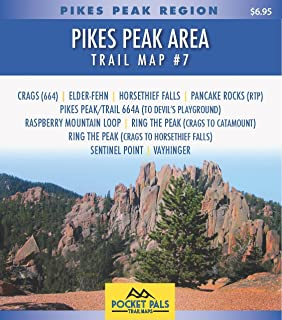 Best map of pikes peak area Reviews