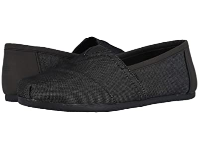 TOMS Alpargata (Black Heavy Denim w/ Synthetic Trim) Men