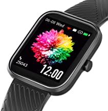 Smart Watch, Virmee 2021 Ver Fitness Tracker with Heart Rate Blood Oxygen Sleep Track Step Counter, IP68 Waterproof Pedome...