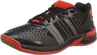 Kempa 男士进攻内衣 Ebbe & Flut 手球鞋,黑色 (Schwarz/Lighthouse Rot 04),英国