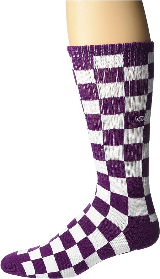Dark Purple/White