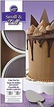 Wilton Small and Tall Aluminum Cake Pans, 2-Piece - Layer Cake Pan Set