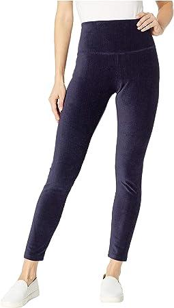 Secretly Slimming Tummy Control Leggings Knit Corduroy