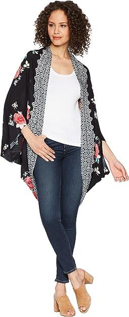 Stella Print Kimono