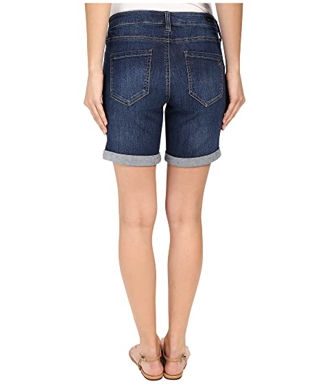 Extremely Sale Online Liverpool Corine Rolled Denim Shorts in Montauk Mid Blue Montauk Mid Blue With Mastercard Outlet Perfect DIwaGV
