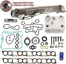 Evergreen EGR-6.0-CNK-2 Engine Oil Cooler & Upgraded EGR Cooler Kit Fits Ford 6.0 OHV V8 Diesel Turbo