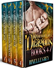Return of the Dragons Books 4-7 (Return of the Dragons Box Sets Book 2)