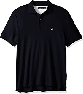Nautica 诺帝卡 男式 经典修身短袖柔软棉质Polo衫