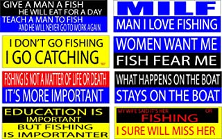 Best fishing auto decals Reviews