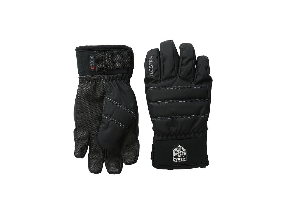 Hestra Czone Primaloft Junior (Black) Ski Gloves