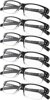 Sponsored Ad - Reading Glasses 6-Pack Spring Hinges Includes Sunshine Readers