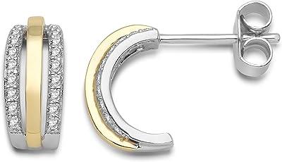 MIORE MPS045E - Orecchini a cerchio da donna, argento sterling 925