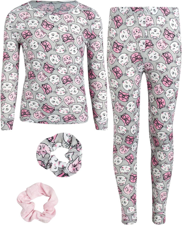 Rene Rofe Girls Pajamas Set – Super Soft T-Shirt and Joggers Set (Toddler/Big Girl)