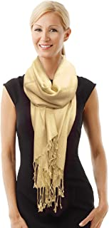 Paskmlna Beautiful Solid Colors Luxurious Pashmina Scarf Perfect Party Favor