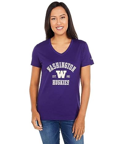 Champion College Washington Huskies University 2.0 V-Neck T-Shirt