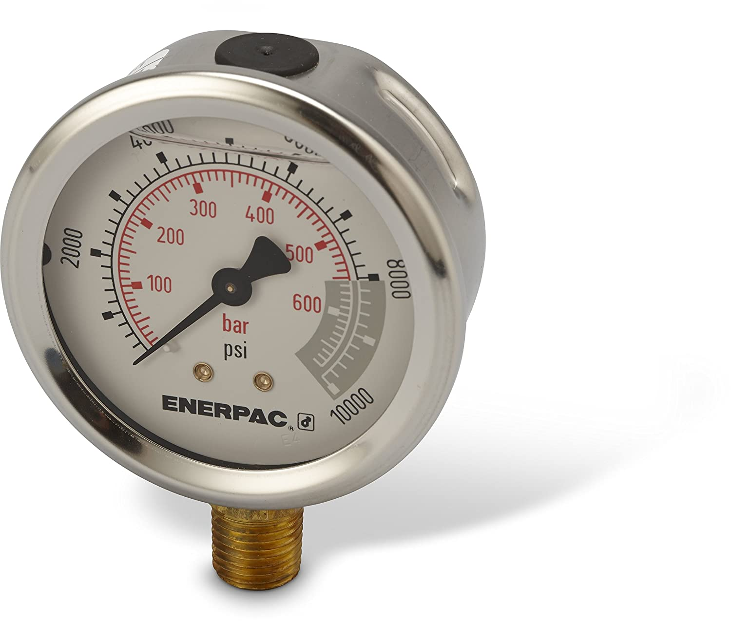 Limited price sale Enerpac G2535L Hydraulic Seattle Mall Pressure Gauge with Dual PS to 0 10