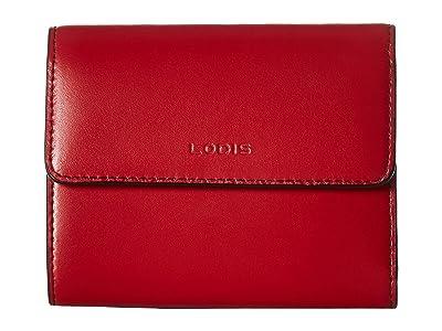 Lodis Accessories Audrey RFID French Purse (Red RFID) Handbags
