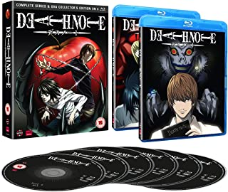 Death Note: Complete Series And Ova Collection Blu-ray UK Im