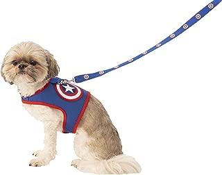Rubie's Marvel Classic Captain America Pet Leash & Harness