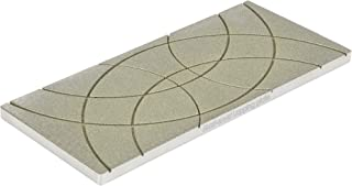 Maxi-smart Lapping Plate 2.0   Diamond Flattening Stone or Whetstone Flattener for 400-10k grit Waterstones, Synthetic Stones   9.4'' x 4.1'' x 0.4''   180 grit