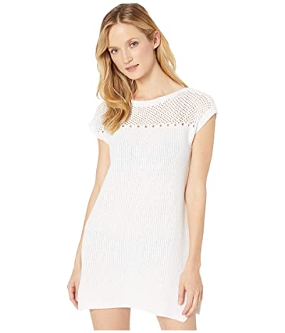 Tommy Bahama Beach Sweaters Tunic Cover-Up (White) Women