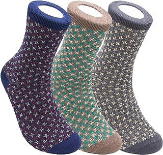 جوراب های خدمه مردانه minimars ، طرحدار درجه یک ، مواد راحت و بادوام ، ساخت کره (اندازه 7-12 با Giftbox)