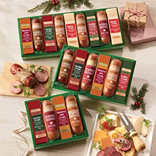 Sausages 'n Cheese Bars, Gift of 6 from The Swiss Colony