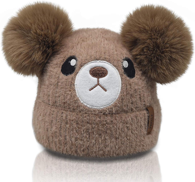 Luxury goods Kids Winter Beanie Knitted Hats for Toddler Girls Baby Regular dealer Boys Ani