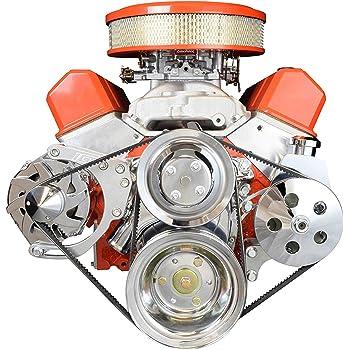 BBC Alternator Power Steering Pump Accessory Drive Bracket Kit 551490