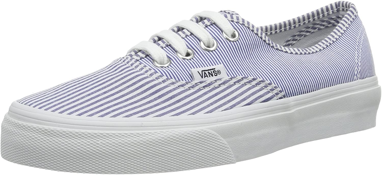 Vans Authentic - Unisex Dress bluees Stripe   8   M